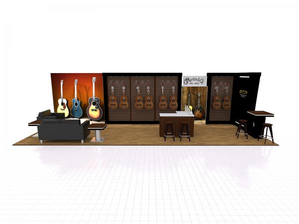 VK-3008 Trade Show Exhibit -- 10 x 30 Version
