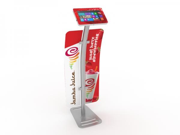 MOD-1333M Portable Surface Kiosk with Graphics